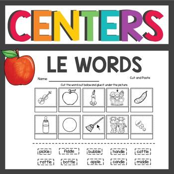 Consonant le Words