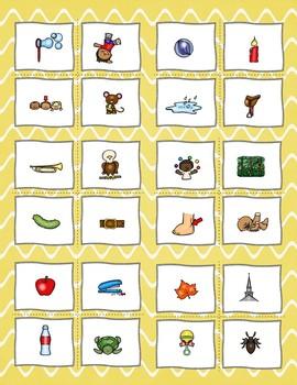 Consonant + le Words Practice Activities