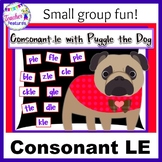 Consonant -le Game: Puggle the Dog