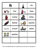 Consonant/Digraph Word Sorts with Pictures (Digraph Th Voiced)