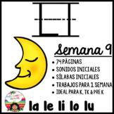 Letra L Silabas la, le, li, lo, lu