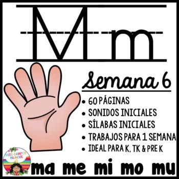 Letra M ma, me, mi, mo, mu BUNDLE