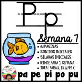 Letra Pp (pa, pe, pi, po, pu) BUNDLE