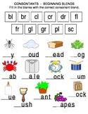 Consonants - Beginning Blends