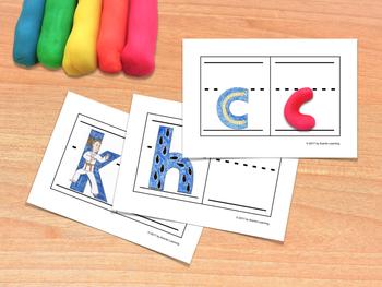 Consonants Fine Motor Practice - Práctica de motricidad fina con consonantes