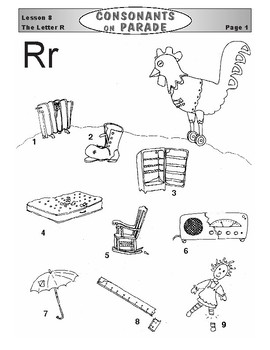 Consonants on Parade Lesson 8: The Letter R