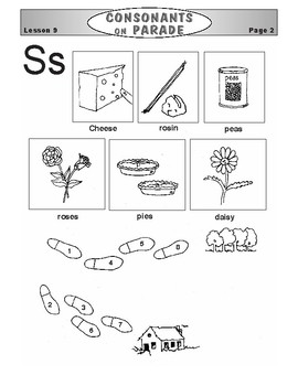 Consonants on Parade Lesson 9: The Letter S