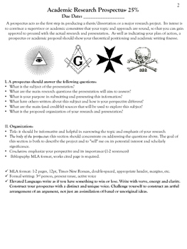 Conspiracy Theory Creative Research Presentation