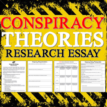 Conspiracy Theory Research Essay