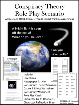 Conspiracy Theory Role Play Game