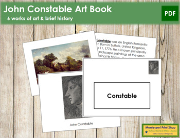 Constable (John) Art Book