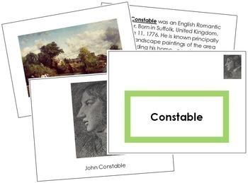 Constable (John) Art Book - Color Border