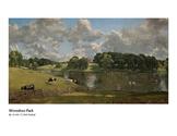 Constable Wivenhoe Park Romantic Era Pre-K