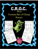 Constant Rate of Change Practice