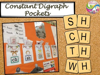 Constant digraph pockets (sh, ch, wh, th)
