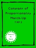 Constant of Proportionality Matching (7.RP.2)