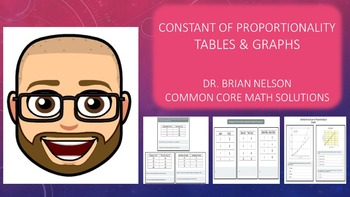 Constant of Proportionality - Tables & Graphs