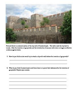 Constantinople and the Hagia Sophia Visual Analysis Worksheet