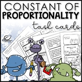 Constant of Proportionality Task Cards