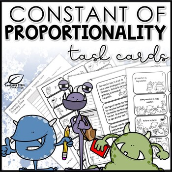 Constants of Proportionality Task Cards