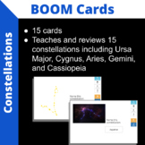 Constellation Boom Cards for Middle School Science