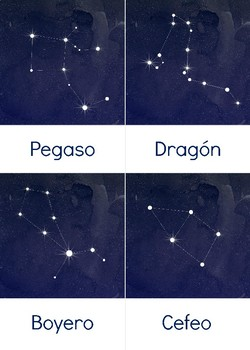 Constellation Cards En Espanol