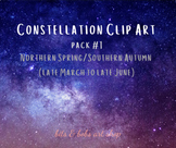 Constellation Clip Art - Pack #1
