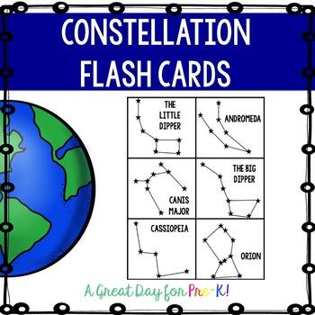 Constellation Flash Cards