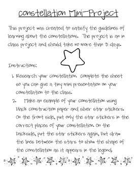 Constellation Mini Project