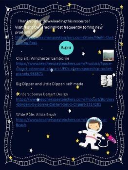 Far Out! Constellation Myth Freebie