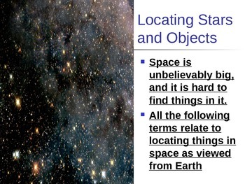 Constellation Notes Powerpoint