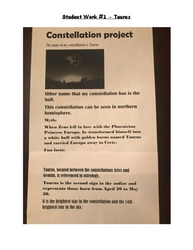 Constellation Research Project
