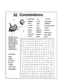 Constellation Word Search