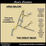 Constellations 1 - Circumpolar & Zodiac