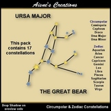 Constellations 1 - Circumpolar & Zodiac