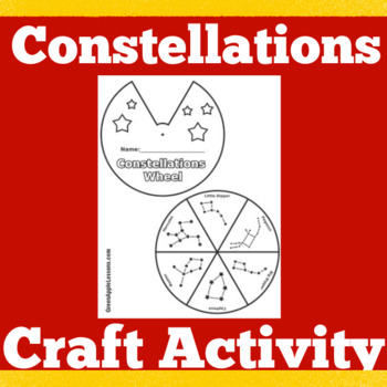 Constellations Activity | Stars and Constellations | Constellations Project