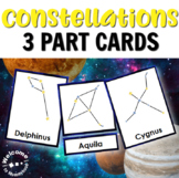 Constellations 3 Part Cards