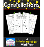 Constellations: A Science Notebook Mini Pack