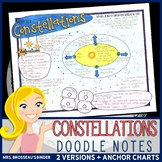 Constellations - Astronomy Doodle Notes