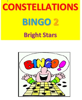 Constellations Bingo 2 -- Bright Stars