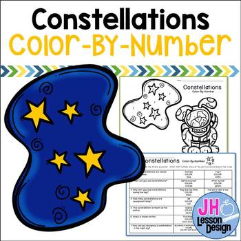 Constellations Color-By-Number