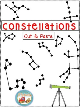 Constellations Cut and Paste