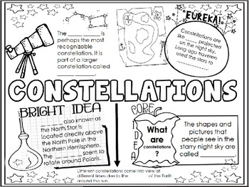 Constellations Doodle Notes