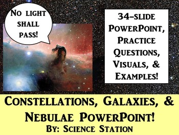 Constellations, Galaxies, and Nebulae