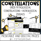 Constellations: Greek Mythology and Zodiac Constellations