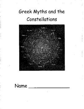 Constellations, Greek Myths, and Activities for Kids