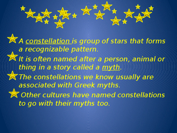 Constellations - Patterns in the Stars