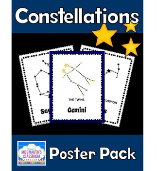 Constellations Poster Pack