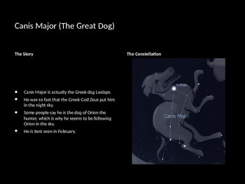 Constellations PowerPoint