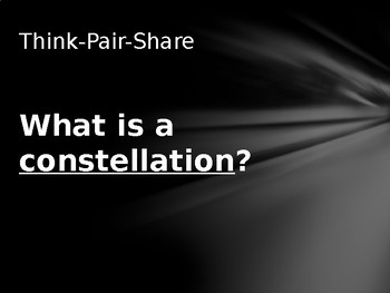 Constellations Powerpoint Lesson - Day 1